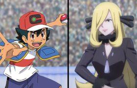 Pokemon Sword and Shield: Galar Ash Vs Cynthia (Cynthia Returns)