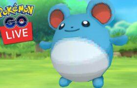 Shiny Marill Research Day Pokemon Go Live