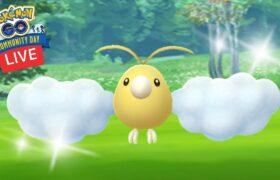 Shiny Swablu Community Day Live Pt 2 Pokemon Go