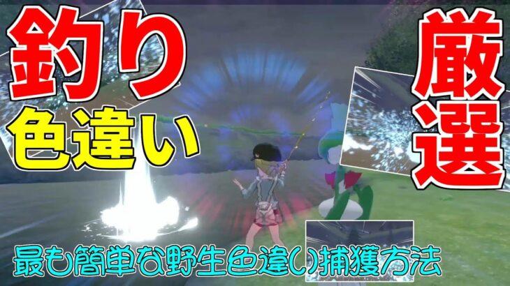 【ポケモン剣盾】最も手軽な野生色違い厳選方法は「釣り」だった!【ゆっくり実況】
