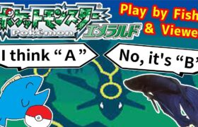 【552h~_ エキシビション】お魚と視聴者でポケモンクリア_Play Pokémon with viewers and fish
