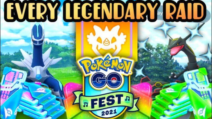 *CATCH EVERY LEGENDARY IN ONE DAY* for Pokemon GO // NEW RAID SYSTEM // Dialga & Palkia Raids + MORE