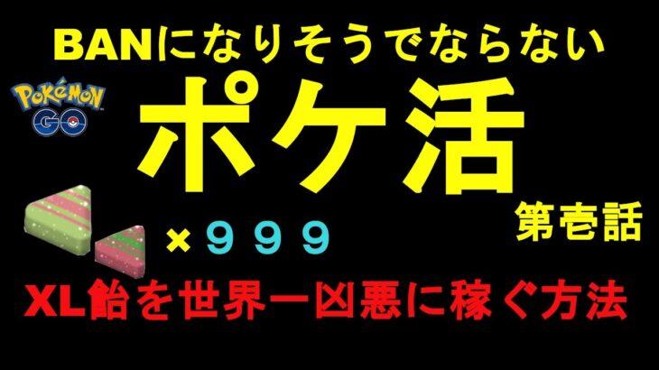 【ポケモンGO】XL飴を無限回収する裏技【GBL】