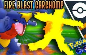 Garchomp Fire Blasts EVERYTHING in Ultra GO Battle League for Pokemon GO // Shadow Granbull is OP