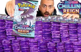 I Pull It, You Keep It For FREE! MASSIVE Chilling Reign Pokemon Cards Opening!