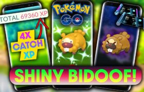 OUR GOD HAS ARRIVED… *SHINY BIDOOF* EVENT in POKEMON GO | DETAILS, NEW SHADOWS & BONUSES!