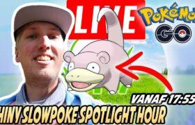Pokemon GO Nederlands – Shiny Slowpoke Spotlight Hour Nederland LIVE (AKA transfer Gible!)