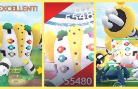 《Pokemon GO》雷吉奇卡斯降臨傳說團體戰!レジギガス Regigigas!