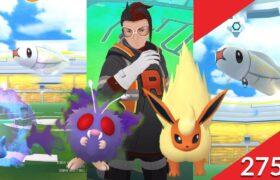 《Pokemon GO》打敗火箭隊亞洛獲得七彩暗影任務獎勵火伊布!麻麻小魚團體戰!寶可夢對戰 Ultra League 高級聯盟 PVP!