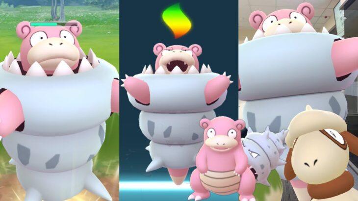《Pokemon GO》Mega進化超級呆殼獸!ヤドラン Slowbro!