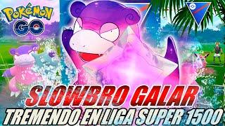 ¡SLOWBRO GALAR DEBUTA EN LIGA SUPER 1500 GO BATTLE LEAGUE!  – POKÉMON GO PVP