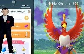 Shadow Ho-oh debut in Pokemon Go! Regigas available in Raid