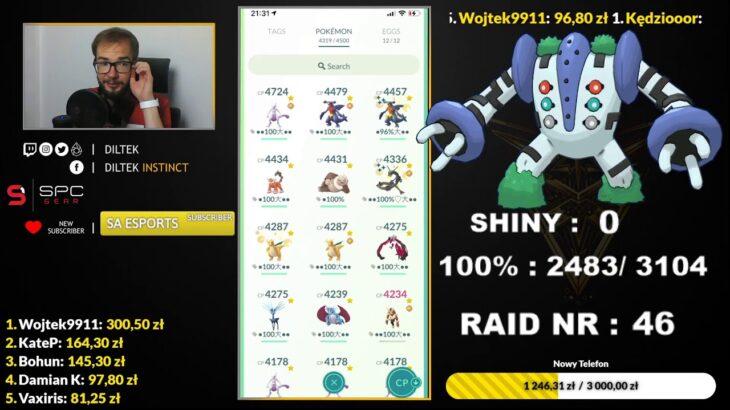 Shiny Regigigas Hunt! Meczowe Raid Hour! Pokemon GO Poland