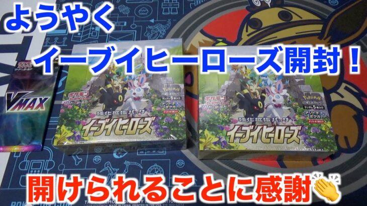 【ポケモンカード】突如届いた謎の箱達!?その内容に涙が止まらない・・・。【イーブイヒーローズ】
