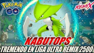¡5-0!¡KABUTOPS EL CAÑON DE CRISTAL EN LA ULTRA REMIX 2500 CP GO BATTLE LEAGUE! – POKÉMON GO PVP