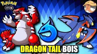 DRAGON TAIL GROUDON & GARCHOMP are THE NEW META! [Pokemon GO Battle League]