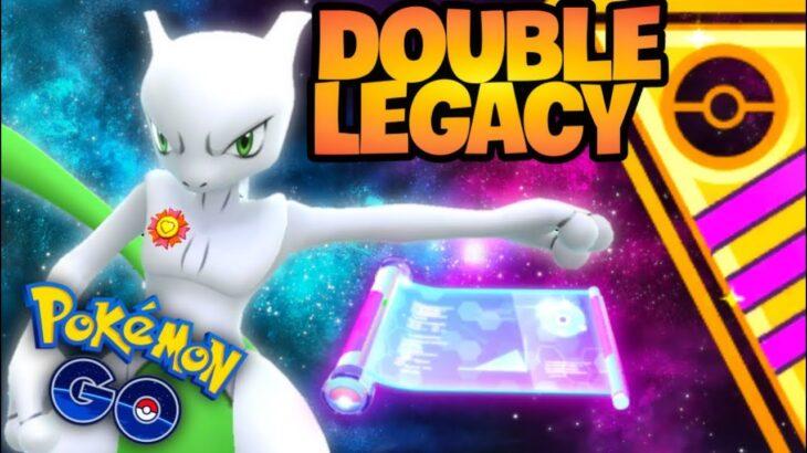 Double Legacy Shiny Mewtwo in GO Battle League Master // Pokemon GO