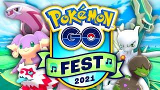 GO Fest 2021 Live in Alaska // Pokemon GO & chill