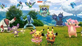 (LIVE) POKEMON GO FEST 2021 TAG 1   Pokémon GO Deutsch #1463