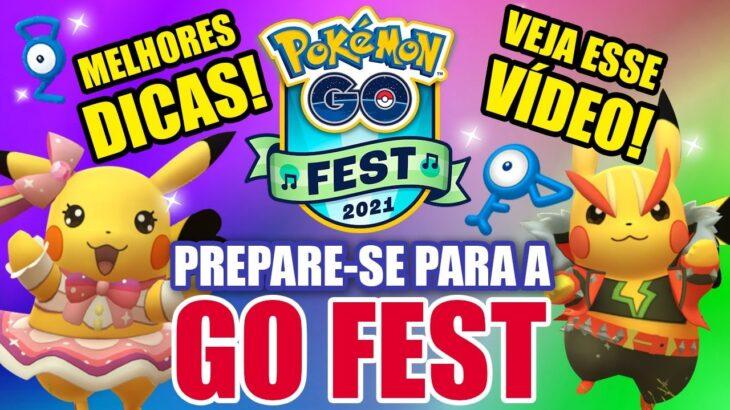 NÃO FIQUE PERDIDO!!! GUIA COMPLETO DA GO FEST – POKEMON GO