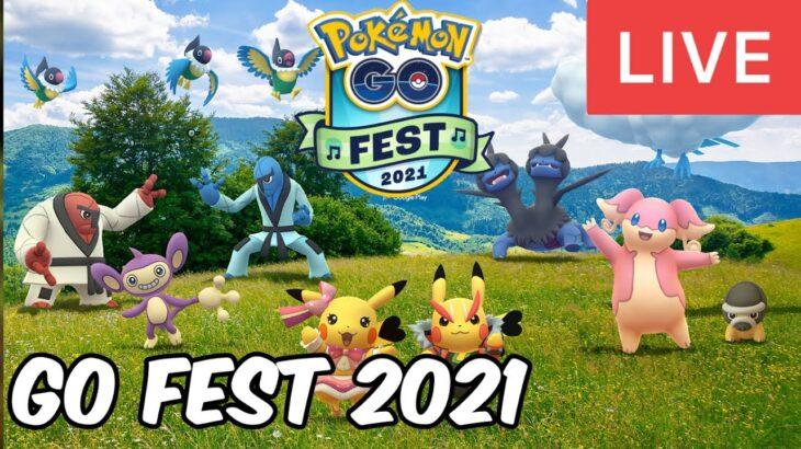 Pokemon GO FEST 2021 LIVE