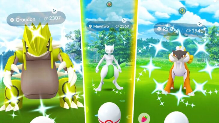 THE BEST POKEMON GO EVENT EVER IS HERE!! Day 2 – Every Legendary Pokemon in Raids!
