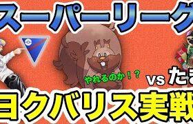 【ポケモンGO】ヨクバリスはスーパーリーグで強いのか!?早速バトルしてみた!