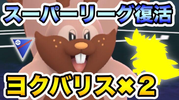 【ポケモンGO】スーパーでヨクバリス!!2体!!