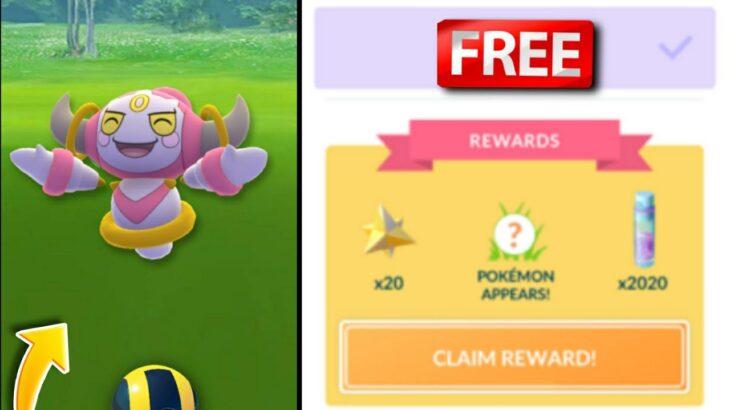 Now get free hoopa in pokemon go   Catch hoopa in Pokemon Go   Hoopa encounter pokemon go.