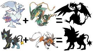 Pokemon Fusion #28: Mega Rayquaza x Reshiram and Luxray x Lycanroc