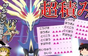 【ポケモン剣盾】ゼルネアスの能力を超上昇させるロマンギミックパーティ【ダブルバトルpart30】