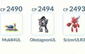 Alolan Muk Obstagoon Scizor | Pokémon GO Ultra League GBL PvP | ポケモンGO ウルトラリーグ GOバトルリーグ Liga Ultra