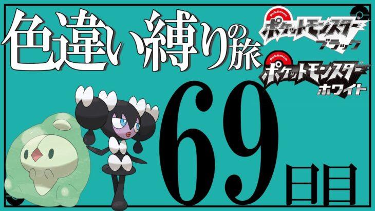 新・BWで色違い縛りの旅  -69日目-【ポケモンBW】