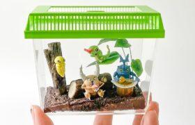 【粘土】ポケモン虫かご 作ってみた – Bug Pokemon Cage Polymer Clay
