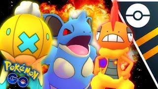 *Death Squad* Team in GO Battle League for Pokemon GO // Take no prisoners