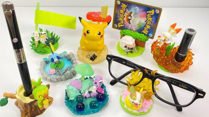 ポケットモンスター デスクトップフィギュア ガラル地方へGO! 全8種 開封 ポケモン Pokemon Desktop figure GO to Galar Region! 食玩 candy toys