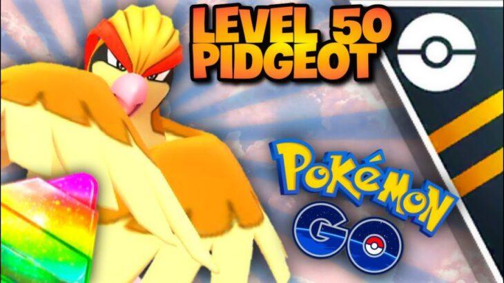 Legacy Lvl 50 Pidgeot in Ultra GO Battle League for Pokemon GO // My First Ultra League Battles S9