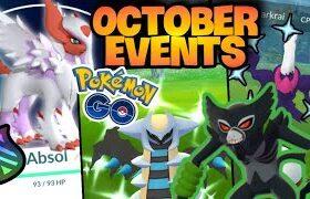 *MEGA ABSOL* Arrives to Pokemon GO // October Events & Shiny Legendary Raids // Zarude release