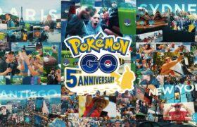 【公式】『Pokémon GO』5周年記念映像「Adventures Go on!」