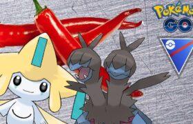 SPICY GREAT LEAGUE REMIX TEAM WITH JIRACHI AND ZWEILOUS! | Pokemon Go Battle League PvP