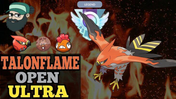 TALONFLAME STILL RULES OPEN ULTRA | Legend: 2600 | Pokemon Go Battle ULTRA LEAGUE REMIX PvP