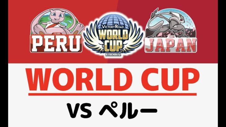 ポケモンワールドカップ vsペルー 第2試合【ポケモン剣盾/ダブルバトル】