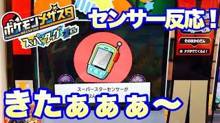 【ポケモンメザスタ】タッグ2だんスーパースターセンサー反応❗️